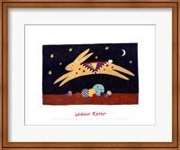 Framed Leaping Rabbit