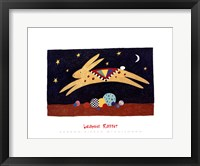 Framed Leaping Rabbit