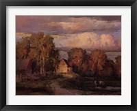 Framed Galust Berian - Afternoon Sun