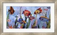 Framed Under the Sea