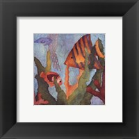 Framed Tropical Fish I