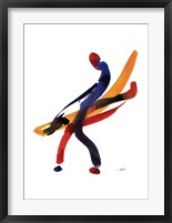 Framed Dancer I