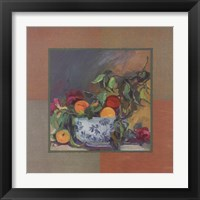 Framed Peach Still Life