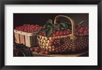 Framed Still Life with Berries