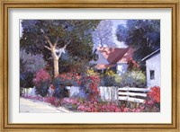 Framed Cottonwood Lane