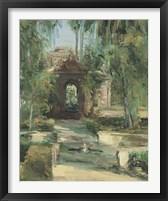 Framed Fuentes y Jardines