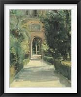 Arco y Columna Framed Print