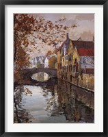 Framed Brugge Reflections