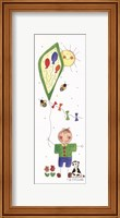 Framed Three Balloon Kite