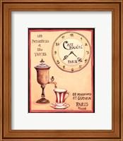 Framed Cafe Societe