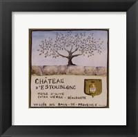 Framed Huile D' Olive