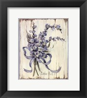 Summer Bouquet Of Blues I Framed Print
