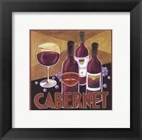 Framed Vintage Wine I