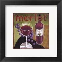 Framed Vintage Wine IV