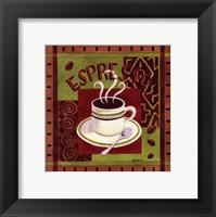 Framed Cafe Exotica I