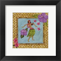 Tiki Girl III Framed Print