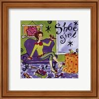 Framed Shoe Girl