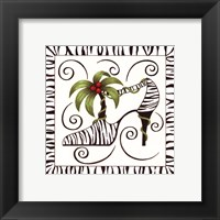 Shoe Palm Framed Print