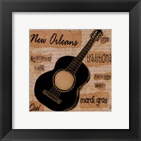 New Orleans Sound Framed Print