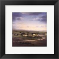 Lovetown Framed Print