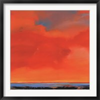 Framed Red Sky