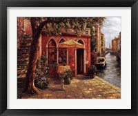 Framed Cafe with Stairway,Venice