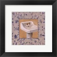 Framed Capital decor - Provincial Sink I