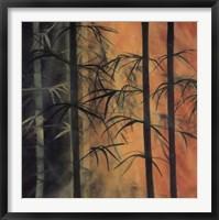 Framed Bamboo Groove I