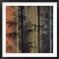 Bamboo Groove II Framed Print
