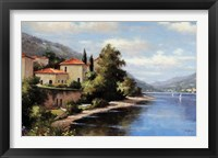 Framed Casa De Lago