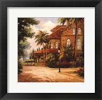 Framed Hacienda de Santiago