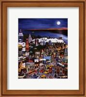 Framed Moonlight Over Manhattan