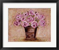 Framed Classic Pink Roses