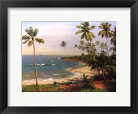 Framed Tropical Coastline