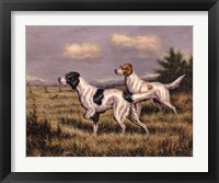 Framed Bird Dogs