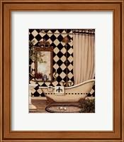 Framed Elegant Bath I