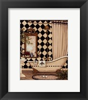 Framed Elegant Bath I
