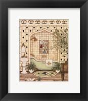 Elegant Bath III Framed Print