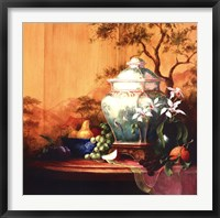 Framed Oriental Orange