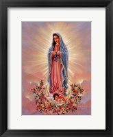 Framed Our Lady Of Guadalupe