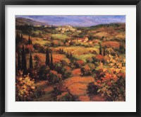 Framed Umbria Panorama