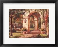 Framed Arch Courtyard I