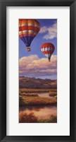 Balloon Panel I Framed Print
