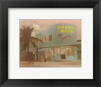 Framed Blue Marlin Hotel