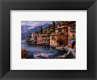 Framed Villagio Dal Lago