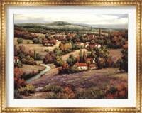 Framed Villagio Distante I
