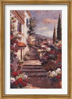 Framed Stairstep Bouquets