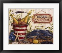 Framed Blue Crabfest