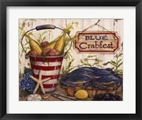 Framed Blue Crabfest