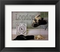 Framed London Hat